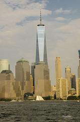One world trade center vu du Liberty park  Jersey city (regis.muno) Tags: newyork manhattan nikond7000 usa jerseycity libertypark oneworldtradecenter