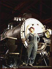 """Rosie The Riveter"" @ California State Railroad Museum"