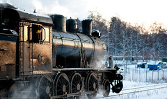 Steam train III (Lars Dahlin) Tags: christmas december sweden christmasfair jamtli stersund julmarknad