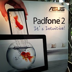 ASUS PadFone 2 launch in Malaysia today. RM2799 with tablet station. More details on http://liewcf.com later.
