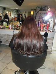 Knippen Dames (Kapsalon Aura) Tags: groningen aura hairextensions haar kapper knippen kapsalon