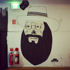 Pancho el Blackbeardo Diez (Mulga The Artist) Tags: square squareformat amaro iphoneography instagramapp uploaded:by=instagram