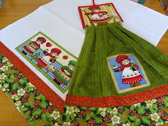 Bate mão e pano de prato (Paty Patch) Tags: natal patchwork batemão patchaplique panodeprto