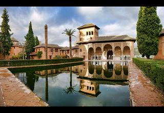Palacio del Partal, La Alhambra de Granada.