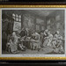 093-20120705_Hanbury Hall-Worcestershire-Gothick Corridors-'Marriage a la Mode' by Hogarth-plate 1 of 6 'The Marriage Settlement'