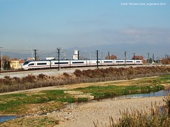 Simulacions a Mollet (tunel_argentera) Tags: train tren siemens railway zug ave 103 ferrocarril renfe adif mollet