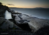 Breakwater [EXPLORED] (startwithz) Tags: sf sanfrancisco blue water bay nikon francisco long exposure tokina le nd hoya nd400 1116 d7000 tokina1116mmf28