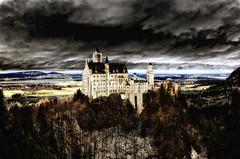 The Castle (St./L) Tags: castle art clouds landscape nikon artistic