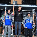 Van Houtte Cup - Giant Slalom, Panorama Mountain Village  12/20/2012 - U18 Podium Martin Grasic 2nd, Brodie Seger 3rd PHOTO CREDIT: Brandon Dyksterhouse