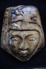 Mayan Death Mask. (TREASURES OF WISDOM) Tags: whatisthis strange stone mystery mexico mask maya aztec spirit teeth jade mayan unknown gods jaguar unusual spirituality healing brilliant shaman shamanic mystic dynasty deathmask votive pagan artefact unseen mythical finearts shamanism headress deitys mayanmask mayanking