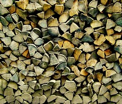 Stacked Wood (scilit) Tags: wood lines farmhouse curves shapes firewood woodpile stackedwood theworldwelivein coth5