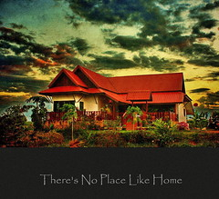 There's No Place Like Home (ulli_p) Tags: house art texture colors beautiful architecture clouds photoshop buildings thailand colorful asia southeastasia colours sunsets textured sincity cloudysky cloudscapes isan photomix artisticexpression amazingcolours aworkofart cloudshot flickraward texturedphoto ruralthailand earthasia thebestshot awardtree tatot artofimages exoticimage canoneoskissx5