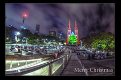 St Mary's Cathedral Sydney/ Week 52 Theme: THE END! [12/1232012 – 12/31/2012] (Luminous Portrait Photography) Tags: 2012 week52 nikkor105mmfisheye niksoftware weekofdecember23 nikond300s 522012 52weeksthe2012edition