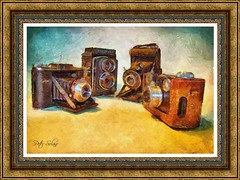 Vintage Cameras (Peter Solano. Pursuing a dream!) Tags:
