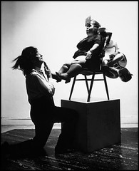 Halsman, Philippe (1906-1979) - 1965 Salvador Dali (RasMarley) Tags: photographer dwarf surrealism american surrealist 1960s dali 20thcentury latvian 1965 halsman philippehalsman