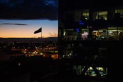 (Victoriano) Tags: street city sunset art home photography photo flag cities australia oceania melburne