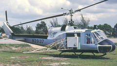 N39137 - Former 1960 fiscal Bell UH-1B Iroquois, with Collier County Mosquito Control (egcc) Tags: county collier control bell spray huey mosquito naples 213 restricted municipal spraying iroquois apf uh1 kapf uh1b n39137 n846mc 603567