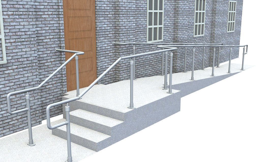 Ada Handrail Easy To Install Economical Fully Compliant
