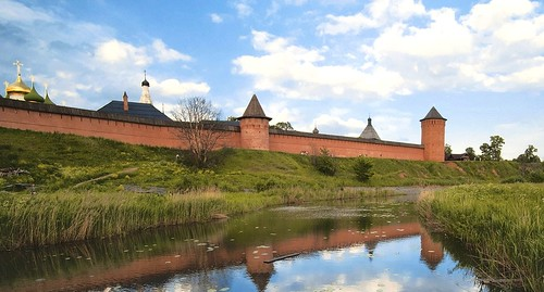 Suzdal Town (Russia) after Crop
