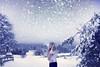 I dreamt, I achived (Sophia Alexis) Tags: alexis christmas new trees sky snow me girl norway canon eos bokeh 7d years sophia