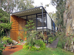Eames House (benjaminfish) Tags: california house architecture los december pacific angeles eames 2012 palisades