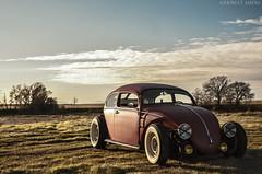 vw3 (JermyCorp Media) Tags: vw photoshop bug nikon low beetle sigma wideangle adobe chopped custom stretched 1972 tiki 1020 72 70200 f28 voodoo volkswage d300 choptop cs6 rollingshot