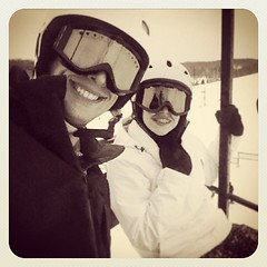 Shredding with @sammmmi_elkuss #snow #snowboarding #michigan #mtbrighton #winter (bryan elkus) Tags: square squareformat earlybird iphoneography instagramapp uploaded:by=instagram
