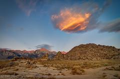 Sierra Sunrise (jlindhardt) Tags: pine clouds sunrise nikon hiking alabama hills backpacking whitney granite lone portal muir lindhardt d7k d7000 jlindhardt