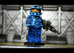 Protector (Geoshift) Tags: lego 4 halo spartan brickarms halo4 customminifig legohalo legocustomminifig brickaffliction