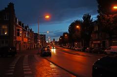 Rainy evening @ Scheveningen (Bastiaan Jol) Tags: sunset rain evening scheveningen 1750 avond tamron f28 havenkwartier