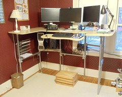 Standing Desk - Upcycled from Sitting Desk