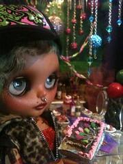 Blythe-a-day January 2: Birthday