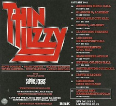 January 2011 Thin Lizzy/ Supersuckers UK Tour (NYCDreamin) Tags: thinlizzy supersuckers uktour january2011