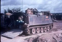 """M113 apc """"C"""" company 4/23rd Infantry /mech/ """"Tomahawks"""" (Jerzy Krzemiski) Tags: infantry vietnam company apc m113"""