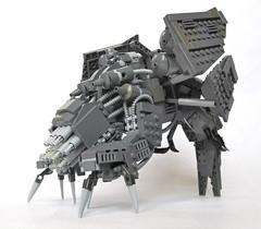 Basilisk War Droid Front (Imagine) Tags: starwars lego mandalorian foitsop wardroid imaginerigney mandalorianbasiliskwardroid