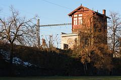 House with perfect view (ZdenekM) Tags: house photography nikon rail railway brno d300s tamron6020afdiiimacro