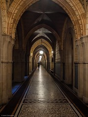 Long Way Down (katrin glaesmann) Tags: england manchester townhall neogothic rathaus 2012 1877 gothicrevival alfredwaterhouse highvictoriangothic gradeilistedbuilding