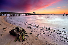 [Explore #9] (Gary Ngo | Photography) Tags: usa beach sunrise virginia pier nikon explore filter hitech leesylvaniastatepark d7000