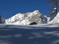 arrivo in Ombretta, Sasso Vernale e Cima Ombretta (gabrieli_a) Tags: scialpinismo marmolada skialp malgaciapela ombretta skimo falier vernale