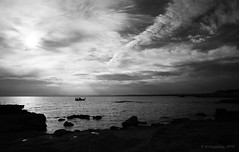 (-Filippos-) Tags: sea bw coast cyprus