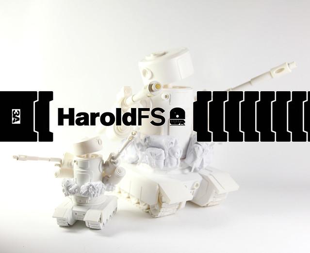 threeA - WWR Harold the Fucktard