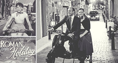 Spanish Holiday (s.f.p.) Tags: street portrait bw white holiday black blanco haze vespa y sofia roman ruben negro el bn audrey nocturna streetphoto pelicula gregory peck carmen vacaciones hepburn adoquines