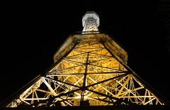 Petn Tower (dragonfly fan) Tags: light tower night lights noche europe nightimages czech prague nacht prag praha praga noite noc petn hx5v