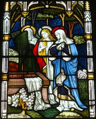 [13680] All Saints, Bakewell : Gisborne Window (Budby) Tags: church window derbyshire peakdistrict stainedglass bakewell peaknationalpark