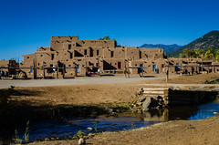 Taos (SGR Photo) Tags: usa newmexico architecture unesco nativeamerican adobe taos reservation 2012 taospueblo pueblofantasma