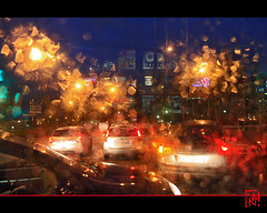 je m'amuse beaucoup ! (mamnic47 - Over 6 millions views.Thks!) Tags: bus bokeh pluie voiture autobus nuit boulognebillancourt hautsdeseine photodenuit gouttesdepluie img5937 effetsdelumires effetslumineux
