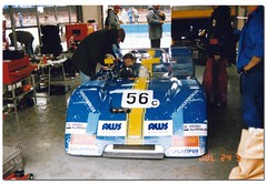 Kent Abrahamsson Chevron B19. International Supersports Cup. Coys Historic Festival at Silverstone 1993. (Antsphoto) Tags: classic car northampton britain historic 1993 sportscar motorsport autosport canam supersports motoracing antsphoto silverstonehistoricfestival anthonyfosh