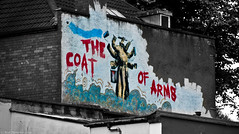 The Coat Of Arms (Neil. Moralee) Tags: street city uk color colour building art wall painting bristol graffiti nikon paint arms tag large neil spot brush avon selective thecoatofarms d7100 steeer moralee