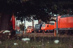 Betriebshof Engelsdorf (Adelmeister) Tags: 2 canon germany deutschland eos mark saxony adler rail db leipzig sachsen mk2 steven bahn deutsche lokomotive lok 7d2 mlkau engelsdorf