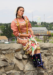 Native Princess (photoluver1) Tags: outdoor nativeamericanwoman nativeamerican ojibway natives woman regalia jingle dress jingledress tribal customs traditions culture society diversity people beauty gorgeous